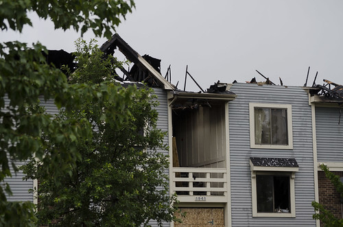 Gull Run Apartments fire, May 31, 2012 | by Simon A. Thalmann