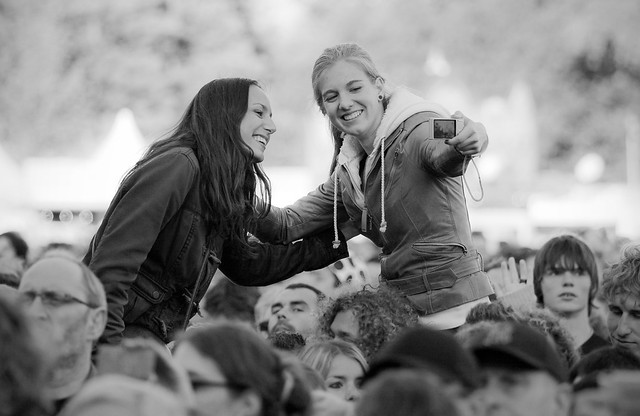 Parkpop 2012 - Say cheese