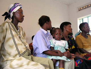 Pregnant woman and mother receive health education | by World Bank Photo Collection