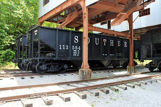 Coal Cars at Blue Heron Mine along Big South Fork Scenic Railway | by A  Train