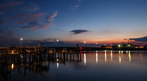 bridge newjersey stoneharbor bay bayside dusk longexposure nj vacation unitedstates us