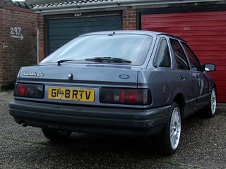 1990 Ford Sierra 2 0i Ghia Every Other Car Was A Sierra Ye Flickr