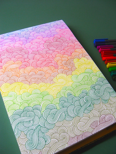 rainbow doodles | by Hello Angel Creative