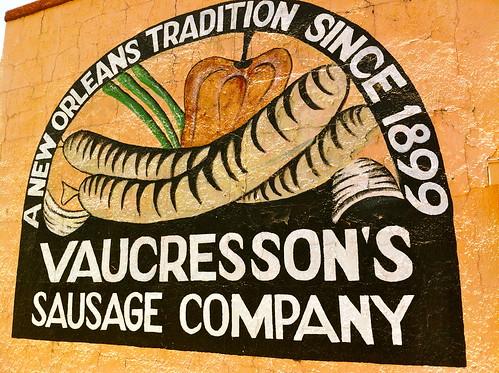Vaucresson Sausage Company. Photo by Melanie Merz.