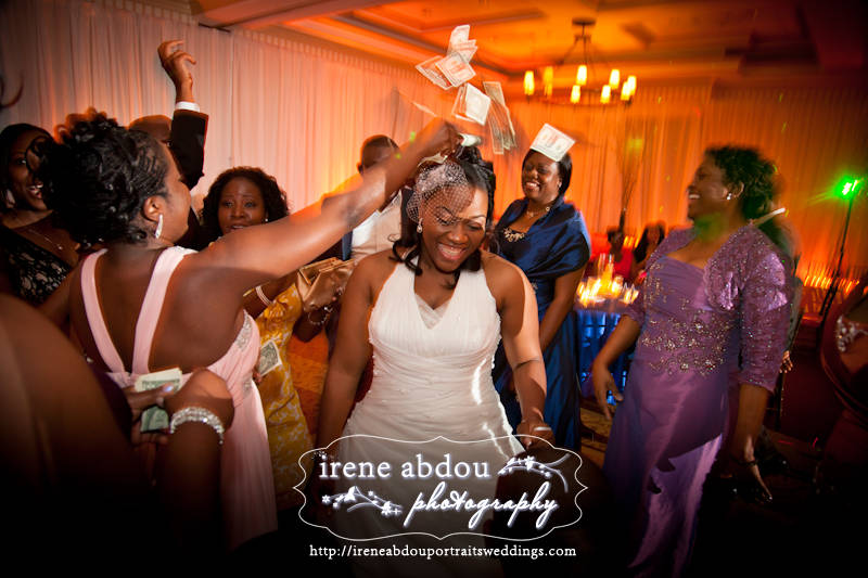 Money Dance Wedding.African Wedding Money Dance In Traditional West African Fa