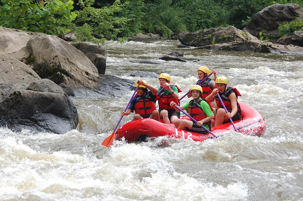 Adventure Camp - Whitewater Rafting