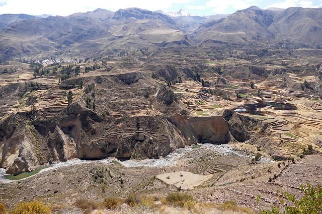 Colca Cañon Valley Arequipa Peru
