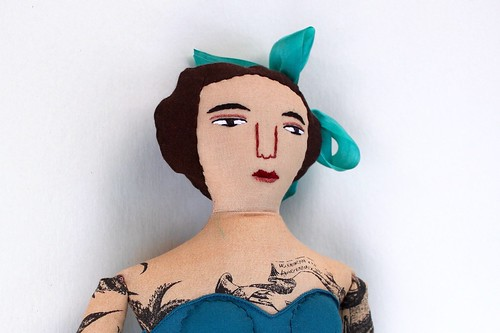 tattooed lady face | by Mimi K