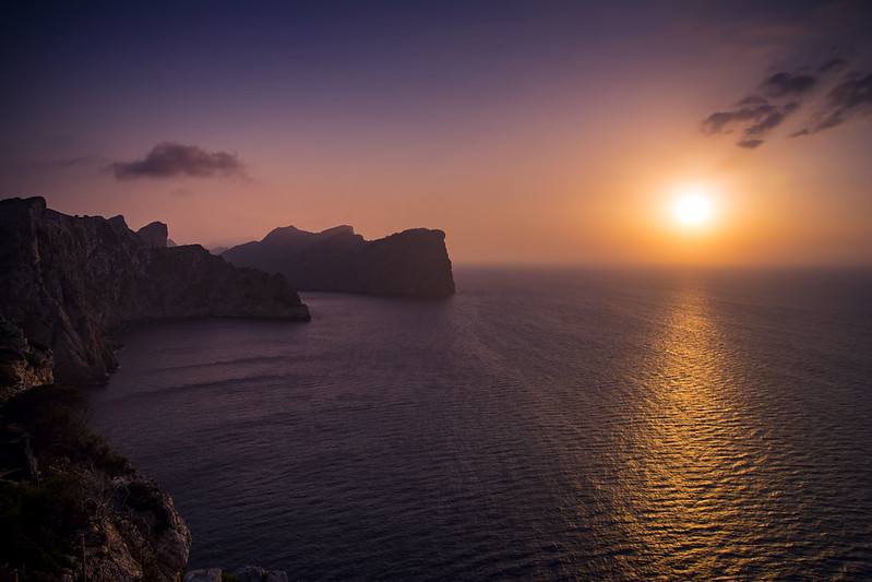 Atardecer en Formentor
