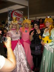 Princesses Peach, Peach and Rosalina