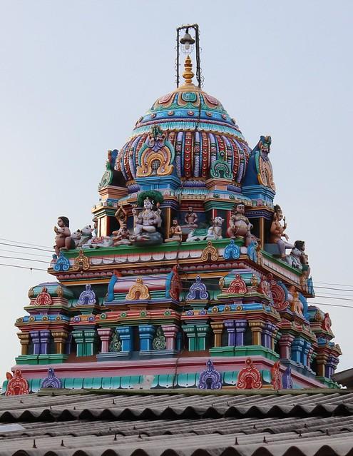 Vimanam of Dakshinamoorthy shrine (2)