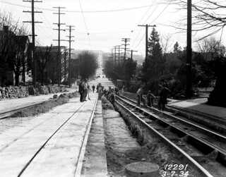 Queen Anne counterbalance, 1934   by Seattle Municipal Archives