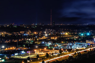 Kiev - TV-tower behind Petrivka | by Dima_Korol
