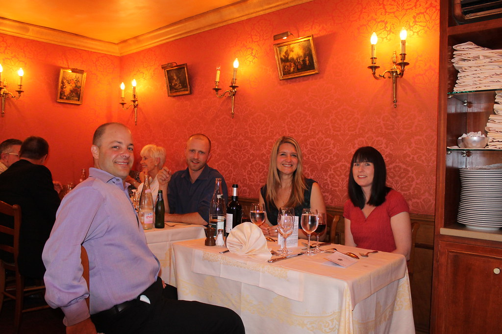 Welcome Dinner at La Petite Chaise