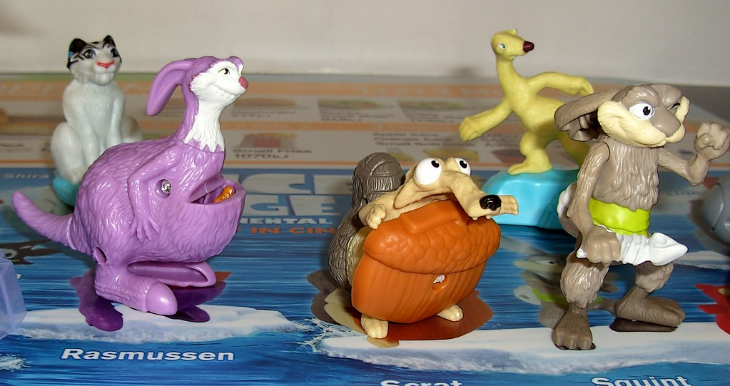 Ice Age 4 Continental Drift Mcdonald S Happy Meal Toy Aust Flickr