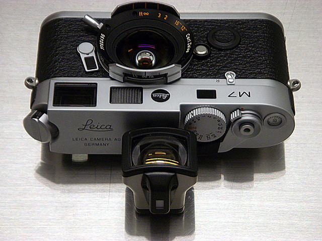 Leica M7 Japanese Engrave Special Edition, Contax G16 Carl