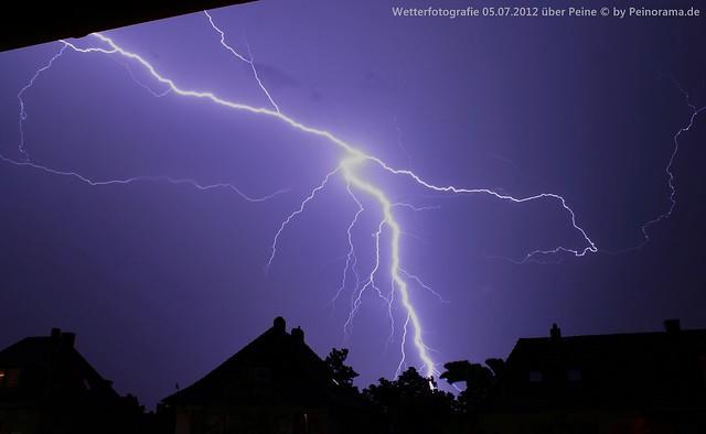 Peine -  storm 5th July 2012 #3