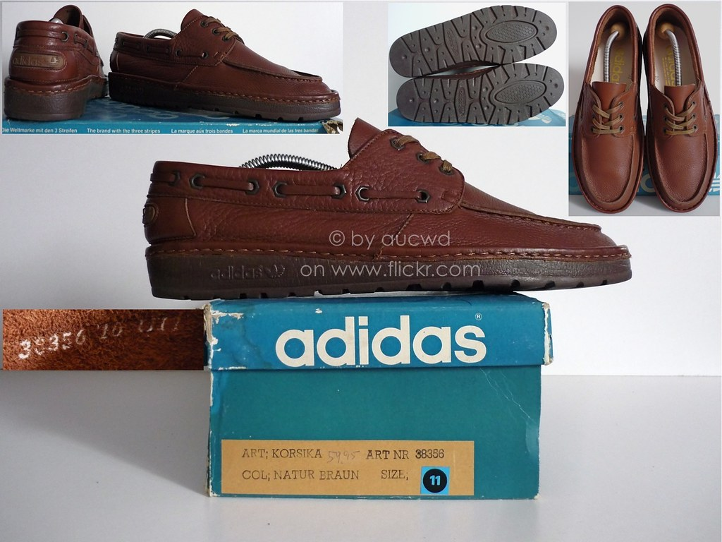 NEW 70`S / 80`S VINTAGE ADIDAS KORSIKA LEISURE SHOES / TRA…   Flickr