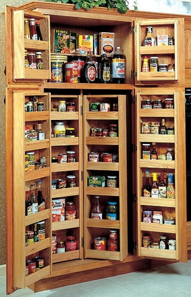 Choosing A Kitchen Pantry Cabinet | pantry design ideas, A k ...