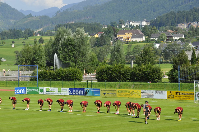 AS Roma ASR Football Camp Styria ATV Irdning Austria Copyright 2012 B. Egger :: eu-moto images 9352