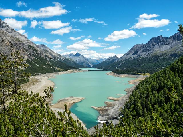 St. Giacomo and Cancano lakes - laghi di San Giacomo e Cancano