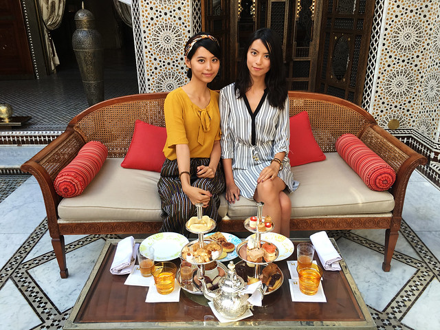 Tea at Royal Mansour