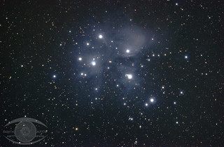 M45- The Pleiades Cluster   by Dark Arts Astrophotography