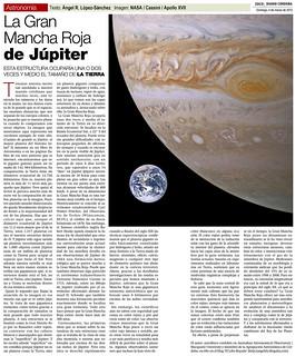 Zoco Astronomía: La Gran Mancha Roja de Júpiter | by Ángel López-Sánchez