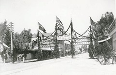 Celebration of the Diamond Jubilee of the reign of Queen Victoria, Murray Street, Gawler, 14 July 1897
