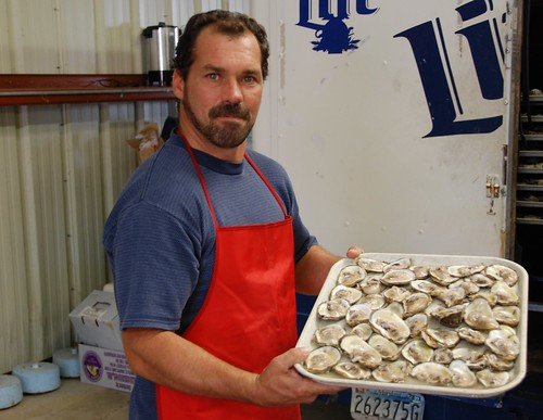 Oysters at St. Mary's County Oyster Festival (Joe Dunn)
