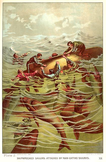 1887 ... feeding the fishies!