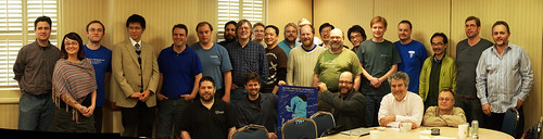 PostgreSQL developers, 2011, Ottawa | by Oleg Bartunov