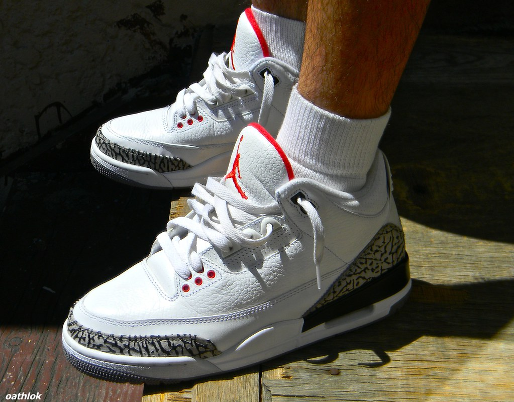 the latest 8ba2e 8ddd0 Air Jordan Retro 3 White Cement | classics | 0athlok | Flickr