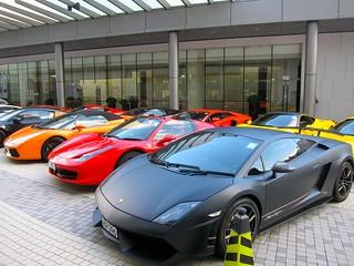Hong Kong supercar club   by jetsetwhitetrash