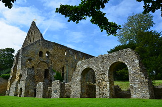 Battle Abbey, dormitory and reredorter( latrine) | by Runemester