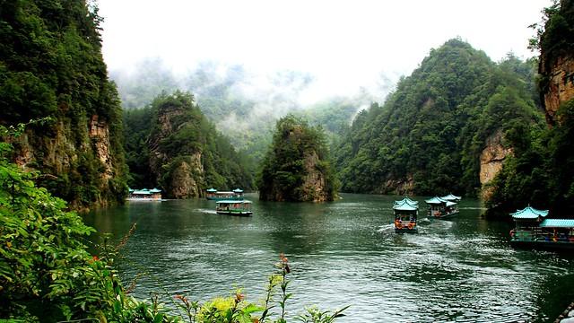 Baofeng Lake Zhangjiajie China