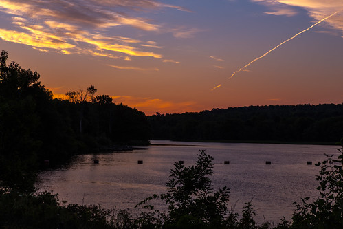trees newyork sunrise blackriver watertown psunset