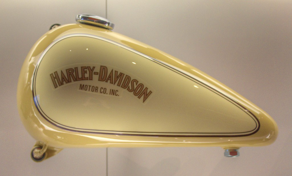 Gas Tank Collection Harley Davidson Museum Milwaukee Wisco