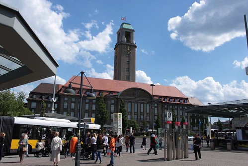 Das Rathaus Spandau