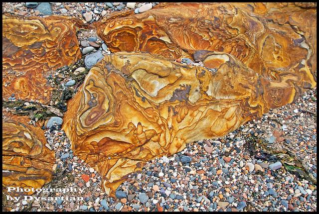Namurian Rock Diagenesis (Liesegang Banding)