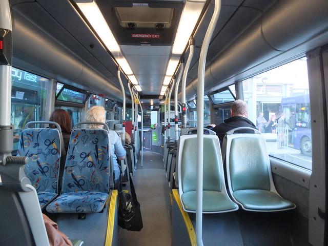 Random seating on long distance Transpeak