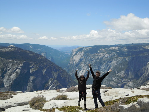 Hiking (and Climbing) Half Dome: We did it! Two sedentary computer nerds did it! | by mormolyke