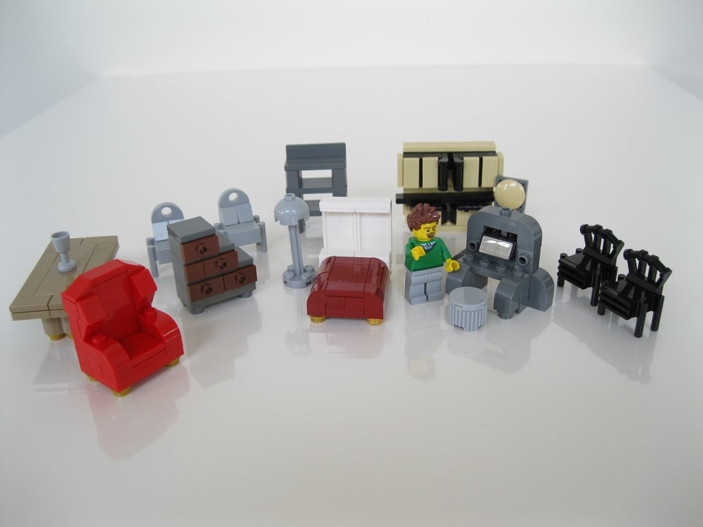 Lego Furniture Some Furniture Experiments This Weekend Wi Flickr