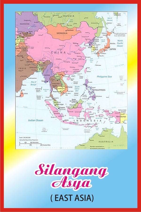Gitnang asya map