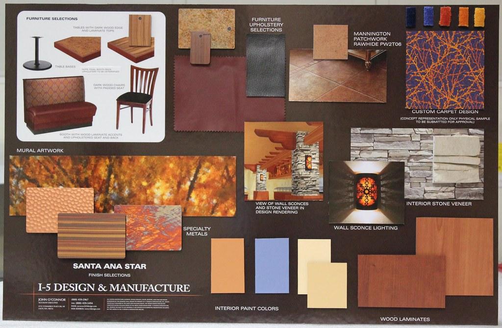 Casino Design Color Board Interior And Exterior Design Flickr