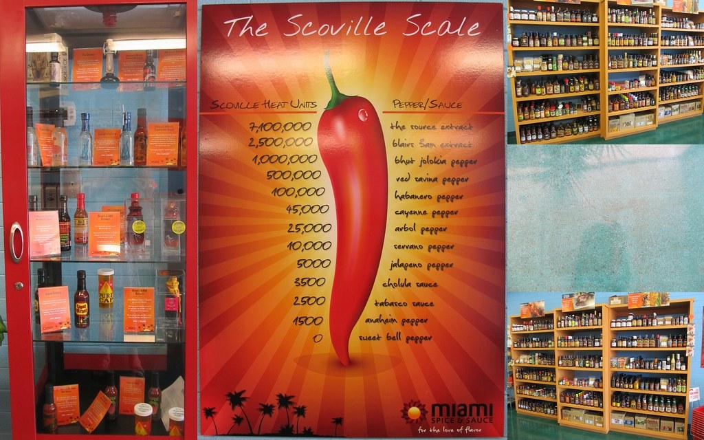 Scoville Scale / Miami Spice & Sauce | Friend's friend opene
