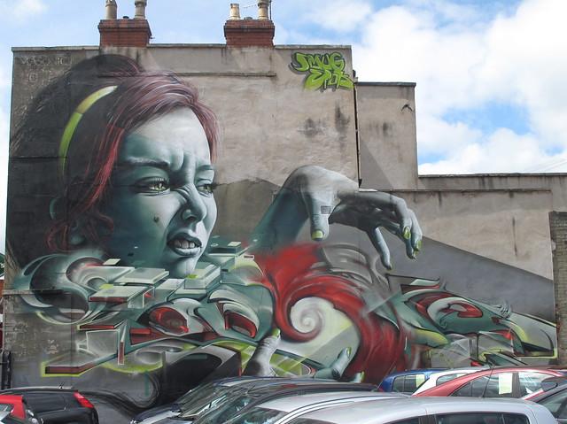SmugOne + Epok graffiti, Bristol