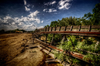 Rust on the Fallen Tracks | by Frank C. Grace (Trig Photography)