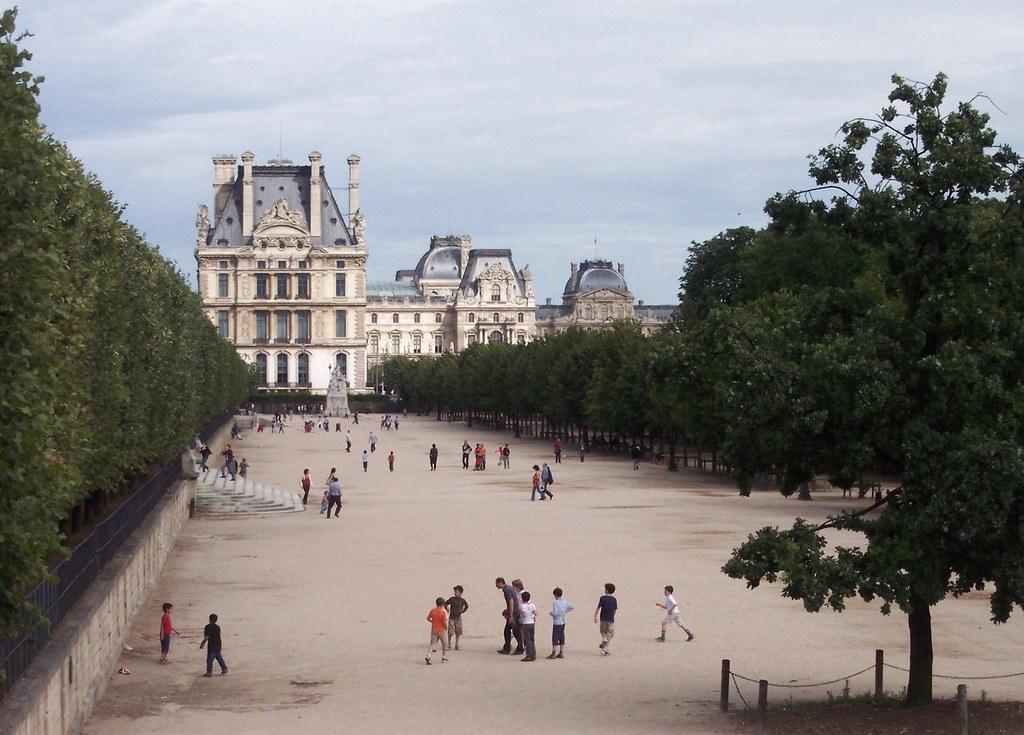 Paris Jardin Des Tuileries Terrasse Des Feuillants Flickr
