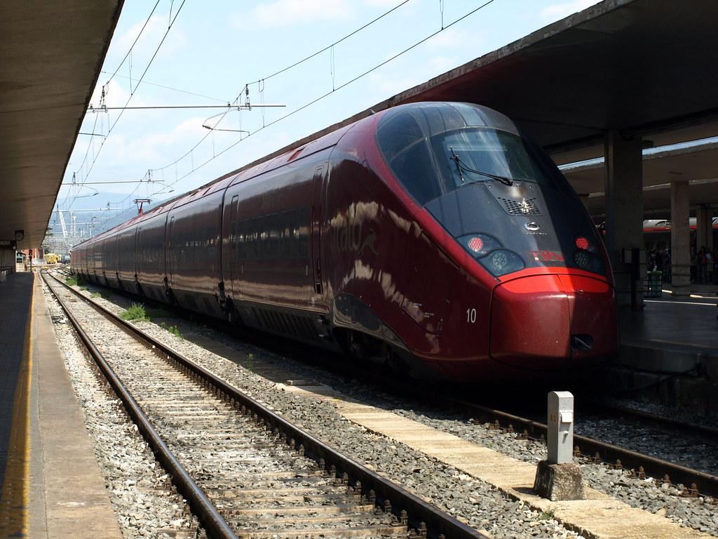 Italo Treno 10 Ntv9926 Da Napoli C Le A Milano P G In Sos